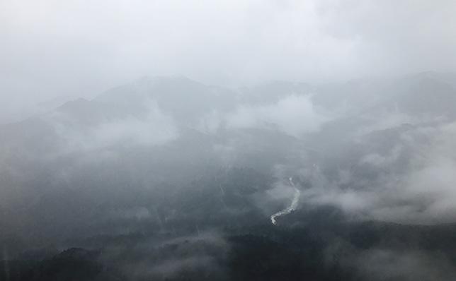 太鼓岩から見る幻想的な風景