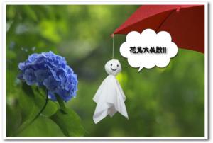 ホテルまでとって泊りで行った花見が大惨事!!【雨に煙る桜の花びら】