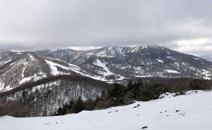 【吹雪の黒斑山・蛇骨岳】ランナーズニーでも雪山ハイキング♪