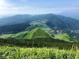 【酷暑に負けず九州の山巡り】低山と思っていたが厳しい暑さで過酷な山行に