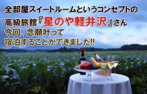 【軽井沢に行こう②】温泉とジビエ料理を堪能できる大満足の高級旅館