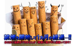 【子供が生まれるのをきっかけに始めた禁煙】まだ継続していますが。。。