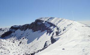 【浅間山】東京から日帰りで行ける雪山ハイキング【東日本最大級の活火山】