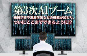 【AIで進化を遂げるビジネス②】人間の頭脳に近づきつつあるAIの現在