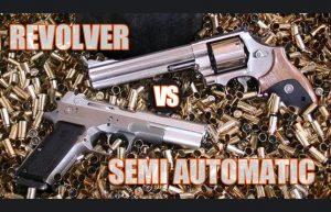 【拳銃に関するうんちく】リボルバーとセミオートを客観的に比べてみた